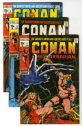 Bronze Age (1970-1979):Superhero, Conan the Barbarian #4-19 Group (Marvel, 1971-72) Condition:Average VF+.... (Total: 16 Comic Books)
