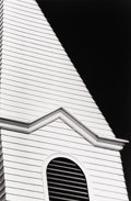 Photography :20th Century , RALPH GIBSON (American, b. 1939). Church Steeple (Black Series 21) , 1981. Silver gelatin, 1981. Paper: 14 x 11 inches (...