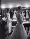Photographs, ALLAN GRANT (American, 1919-2008). Audrey Hepburn and Grace Kelly Backstage at the 28th Annual Academy Awards, Hollywood, ...