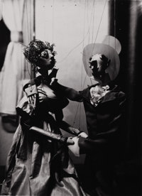 ANDRÉ KERTÉSZ (Hungarian, 1894-1985) Marionettes from the Experimental Puppeteer Geza Blattner, 1928-19