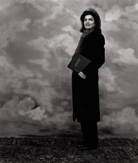 HANK O'NEAL (American, b. 1940) Jacqueline Onassis, New York, 1979 Silver gelatin 24 x 20 inches