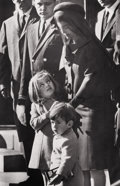 Photography :20th Century , ANONYMOUS, Associated Press. Jacqueline Kennedy and children atJFK's funeral, 1963. Silver gelatin, 1963. Image: 10 x 7...