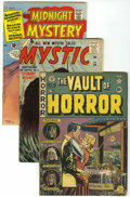 Golden Age (1938-1955):Horror, Miscellaneous Golden Age Horror Group (Various Publishers,1952-61).... (Total: 3 Comic Books)