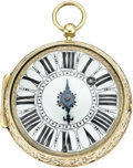 Timepieces:Pocket (pre 1900) , Jean Jaques Robert Early Oignon, circa 1690. ...