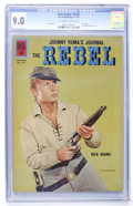 Silver Age (1956-1969):Western, Four Color #1207 The Rebel (Dell, 1961) CGC VF/NM 9.0 Off-white towhite pages....