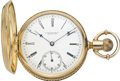Timepieces:Pocket (pre 1900) , E. Howard & Co. Gold Northern Pacific Railway PresentationWatch, circa 1883. ...