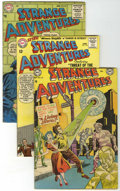 Golden Age (1938-1955):Science Fiction, Strange Adventures Group (DC, 1952-68).... (Total: 14 Comic Books)