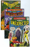 Silver Age (1956-1969):Horror, Tales of the Unexpected Group (DC, 1964-67) Condition: AverageVF/NM.... (Total: 4 Comic Books)