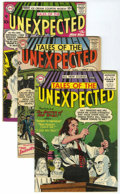 Silver Age (1956-1969):Horror, Tales of the Unexpected Group (DC, 1956-59) Condition: AverageVG+....