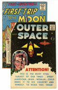 Golden Age (1938-1955):Science Fiction, Charlton Golden Age Science Fiction Group (Charlton, 1956-58).... (Total: 2 Comic Books)