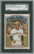 Baseball Cards:Singles (1970-Now), 1972 O-Pee-Chee Roberto Clemente #309 SGC 96 Mint 9....