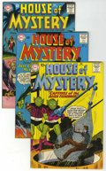 Silver Age (1956-1969):Horror, House of Mystery Group (DC, 1961-68) Condition: Average VF-....(Total: 11 Comic Books)
