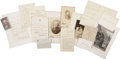 Autographs:U.S. Presidents, [Ulysses S. Grant] Grant Family Archive, including: (1) PhilipSheridan autograph note signed in the third person, accepting...