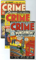 Golden Age (1938-1955):Crime, Crime and Punishment Group (Lev Gleason, 1950-51) Condition: Average FN.... (Total: 10 Comic Books)