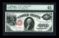 Large Size:Legal Tender Notes, Fr. 37a $1 1917 Legal Tender PMG Choice Extremely Fine 45....