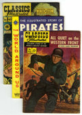 Golden Age (1938-1955):Classics Illustrated, Classics Illustrated Group (Gilberton, 1950-59) Condition: Average GD/VG.... (Total: 5 Comic Books)