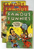Golden Age (1938-1955):Miscellaneous, Famous Funnies Group (Eastern Color, 1942-52) Condition: Average VG/FN.... (Total: 9 Comic Books)