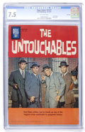 Silver Age (1956-1969):Mystery, Four Color #1237 The Untouchables - File Copy (Dell, 1961) CGC VF-7.5 Off-white pages....