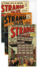 Golden Age (1938-1955):Science Fiction, Strange Tales #31, 47, and 51 Group (Atlas, 1954-56) Condition:Average VG.... (Total: 3 Comic Books)