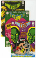 Silver Age (1956-1969):Horror, Unexpected Group (DC, 1968-75) Condition: Average VF/NM.... (Total:5 Comic Books)