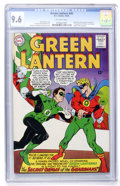Silver Age (1956-1969):Superhero, Green Lantern #40 (DC, 1965) CGC NM+ 9.6 Off-white pages....