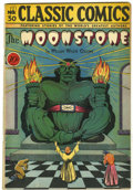 Golden Age (1938-1955):Classics Illustrated, Classic Comics #30 The Moonstone - First Edition (Gilberton, 1946) Condition: VG+....