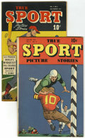 Golden Age (1938-1955):Non-Fiction, True Sport Picture Stories V4#2 and V4#11 Group (Street &Smith, 1947-49) Condition: Average FN.... (Total: 2 Comic Books)