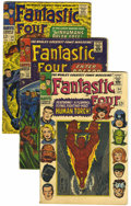 Silver Age (1956-1969):Superhero, Fantastic Four Group (Marvel, 1966-70) Condition: Average VG+.... (Total: 31 Comic Books)