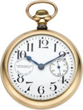 Timepieces:Pocket (post 1900), Waltham Crescent St. with Rare Dial, circa 1902. ...