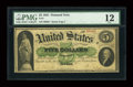 Large Size:Demand Notes, Fr. 1 $5 1861 Demand Note PMG Fine 12....