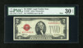 Small Size:Legal Tender Notes, Fr. 1505* $2 1928D Mule Legal Tender Star Note. PMG Very Fine 30 EPQ.. ...