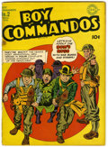 Golden Age (1938-1955):War, Boy Commandos #2 (DC, 1943) Condition: VG....