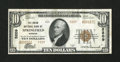 National Bank Notes:Missouri, Springfield, MO - $10 1929 Ty. 2 The Union NB Ch. # 5209. ...