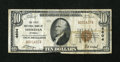 National Bank Notes:Wyoming, Sheridan, WY - $10 1929 Ty. 1 The First NB Ch. # 4604. ...