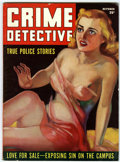 Magazines:Crime, Crime Detective #1 (Hillman Publications, 1938) Condition: FN-....