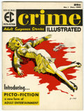 Magazines:Crime, Crime Illustrated #1 (EC, 1955) Condition: FN....