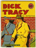 Platinum Age (1897-1937):Miscellaneous, Feature Books #4 Dick Tracy (David McKay, 1937) Condition: VG/FN....