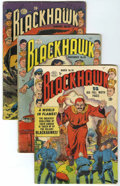 Golden Age (1938-1955):Superhero, Blackhawk Group (Quality, 1951-56) Condition: Average GD.... (Total: 22 Comic Books)