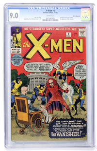 X-Men #2 White Mountain pedigree (Marvel, 1963) CGC VF/NM 9.0 White pages