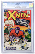 Silver Age (1956-1969):Superhero, X-Men #4 White Mountain pedigree (Marvel, 1964) CGC NM- 9.2 Whitepages....