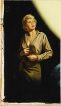 Illustration:Books, AMERICAN ILLUSTRATOR (20th Century) . Fair Game, 1949 . Oilon board . 18 x 10-1/4in. . Not signed . This painting is a ...(Total: 2 Items)