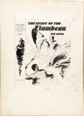 Illustration:Books, AMERICAN ILLUSTRATOR (20th Century) . The Secret of theFlambeau, 1936 . Ink on board . 20 x 14-1/2in. . Not signed .... (Total: 2 Items)