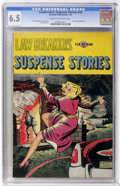 Golden Age (1938-1955):Crime, Lawbreakers Suspense Stories #10 (#1) (Charlton, 1953) CGC FN+ 6.5 Cream to off-white pages.... (Total: 0)