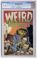 Golden Age (1938-1955):Horror, Weird Mysteries #7 (Gillmor, 1953) CGC FN/VF 7.0 Off-whitepages....