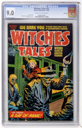 Golden Age (1938-1955):Horror, Witches Tales #22 File Copy (Harvey, 1953) CGC VF/NM 9.0 Cream tooff-white pages....