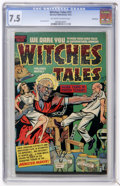Golden Age (1938-1955):Horror, Witches Tales #11 Bethlehem pedigree (Harvey, 1952) CGC VF- 7.5Off-white to white pages....