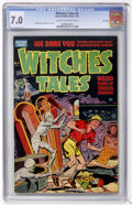Golden Age (1938-1955):Horror, Witches Tales #4 File Copy (Harvey, 1951) CGC FN/VF 7.0 Cream tooff-white pages....