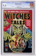 Golden Age (1938-1955):Horror, Witches Tales #3 File Copy (Harvey, 1951) CGC VF/NM 9.0 Cream tooff-white pages....