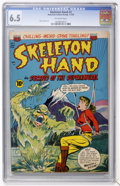 Golden Age (1938-1955):Horror, Skeleton Hand #3 (ACG, 1953) CGC FN+ 6.5 Off-white pages....