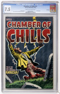 Golden Age (1938-1955):Horror, Chamber of Chills #17 File Copy (Harvey, 1953) CGC VF- 7.5 Cream tooff-white pages....